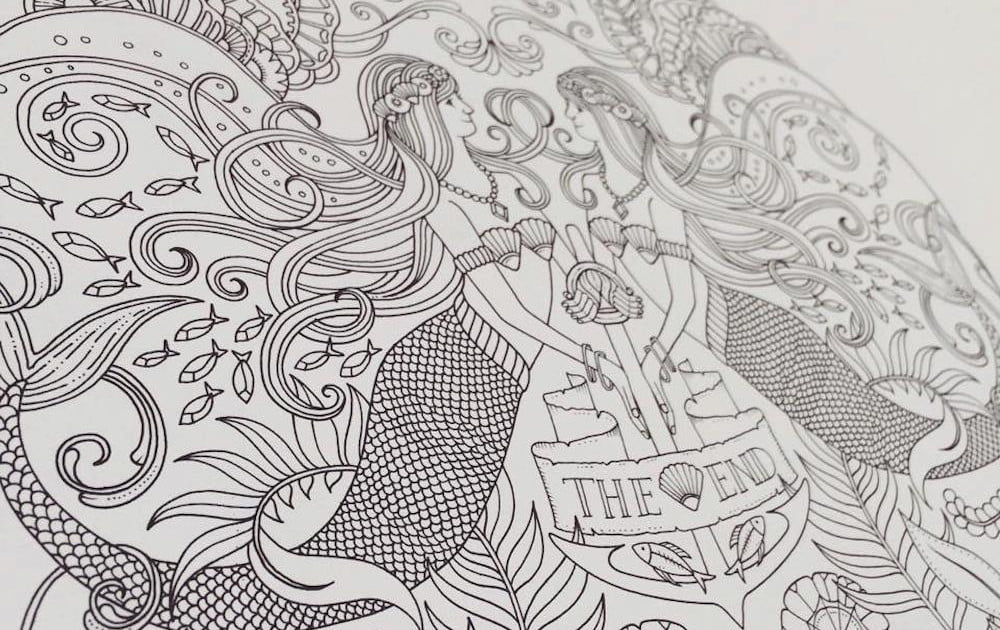 Forget Tech, Pick Up An Adult Coloring Book