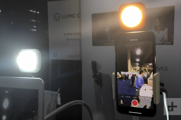 lume cube air vc lighting kit ces unveiled 1