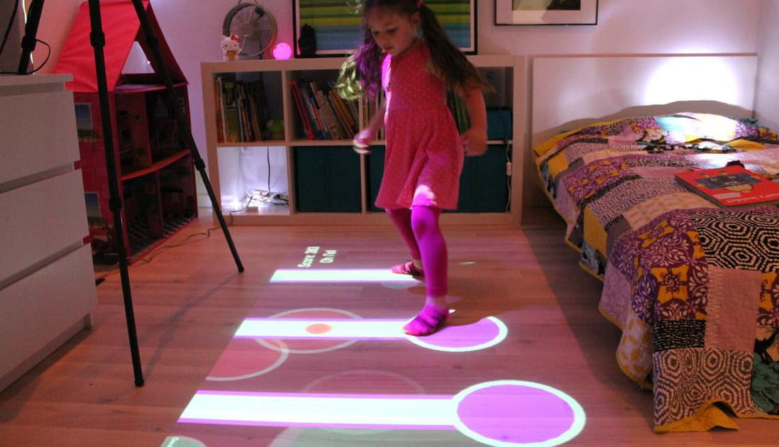 Lumo Is A Projector That Turns Your Floor Into Games