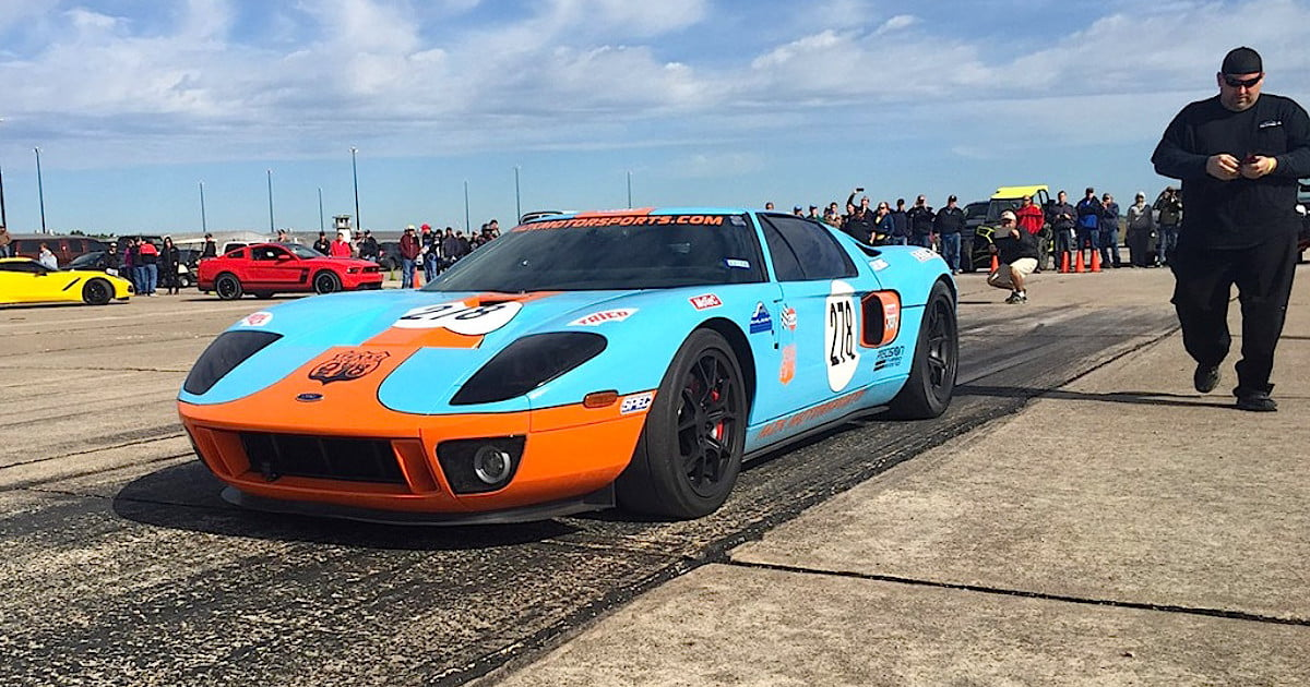 Modified Ford Gt Sets New Standing Mile Record News Videos Digital Trends
