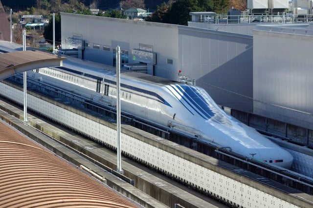 Meet The L0-Series Maglev: The Fastest Train In The World   Digital