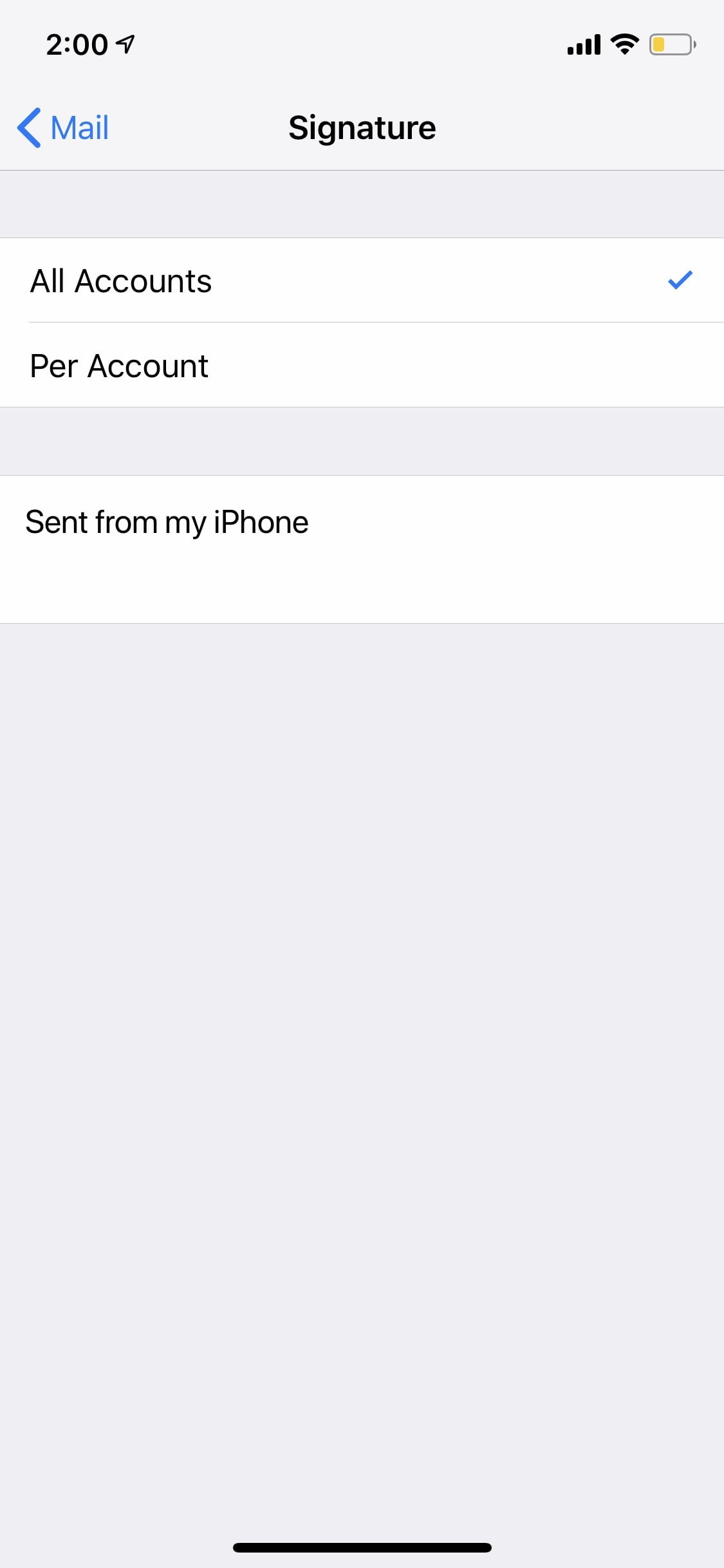 how to change trust settings on iphone