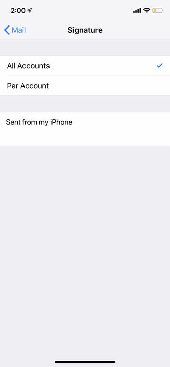 iphone xr settings mail tips 3