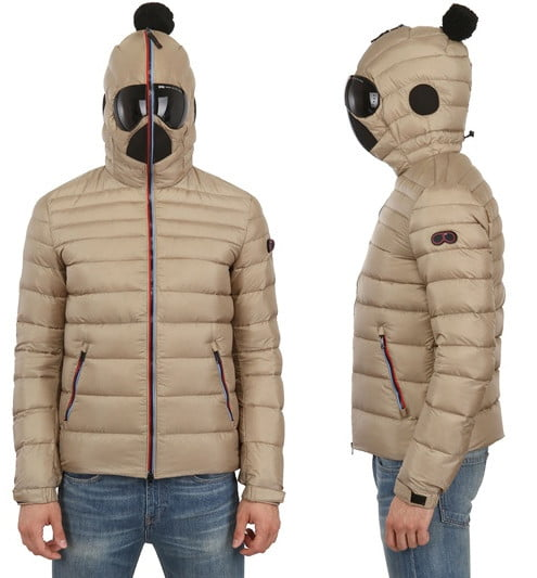 Puffer Jacket With Built In Goggle Is The Best Way To Look