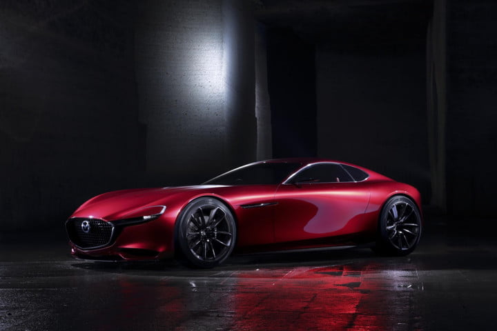 Mazda says the rotary is coming back (again), but it's not for a sports car