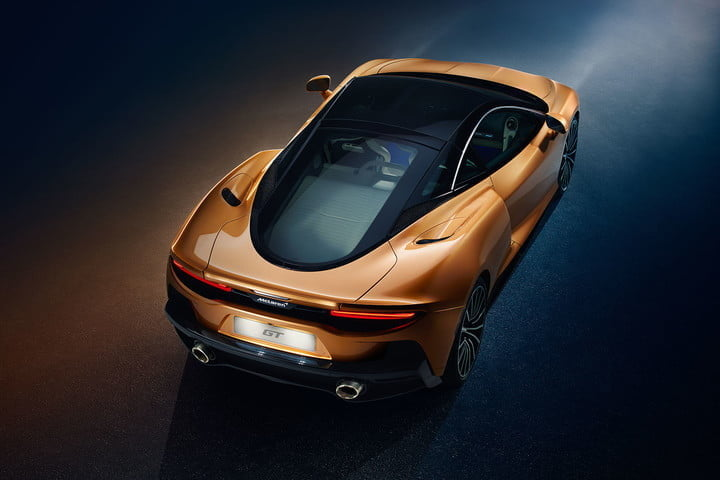 the recently revealed mclaren gt is a road trip ready supercar grand tourer 2019 4
