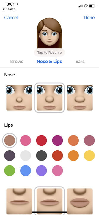 how to set up and use memoji 11