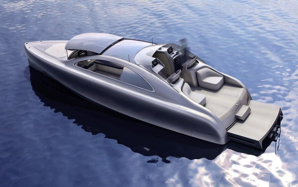 The Mercedes-Benz Arrow 460 yacht: The S-Class of the sea ...