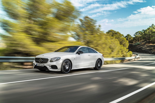 Mercedes new 2018 EClass Coupe is the ultimate celebrity smart