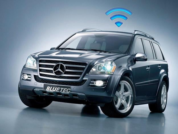 Mercedes benz 39 in vehicle hot spot 39 turns your merc into a for Mercedes benz usa jobs