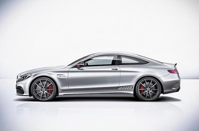 Mercedes C63 Coupe Render