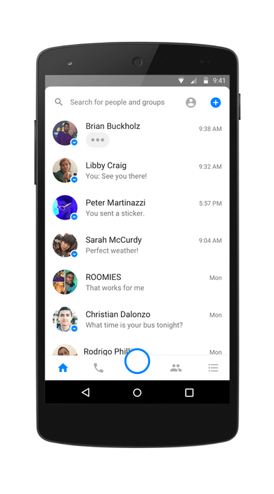 facebook messenger camera revamp