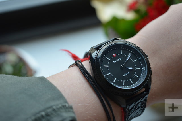 michele hybrid smartwatch review on wrist