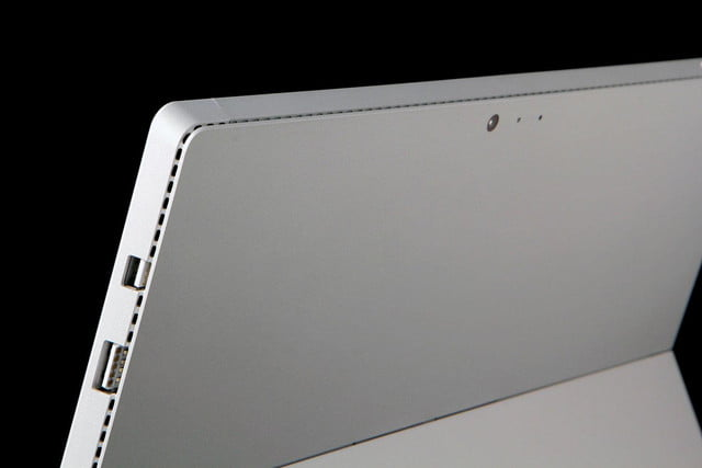 Microsoft SURFACE Pro 3 back top angle