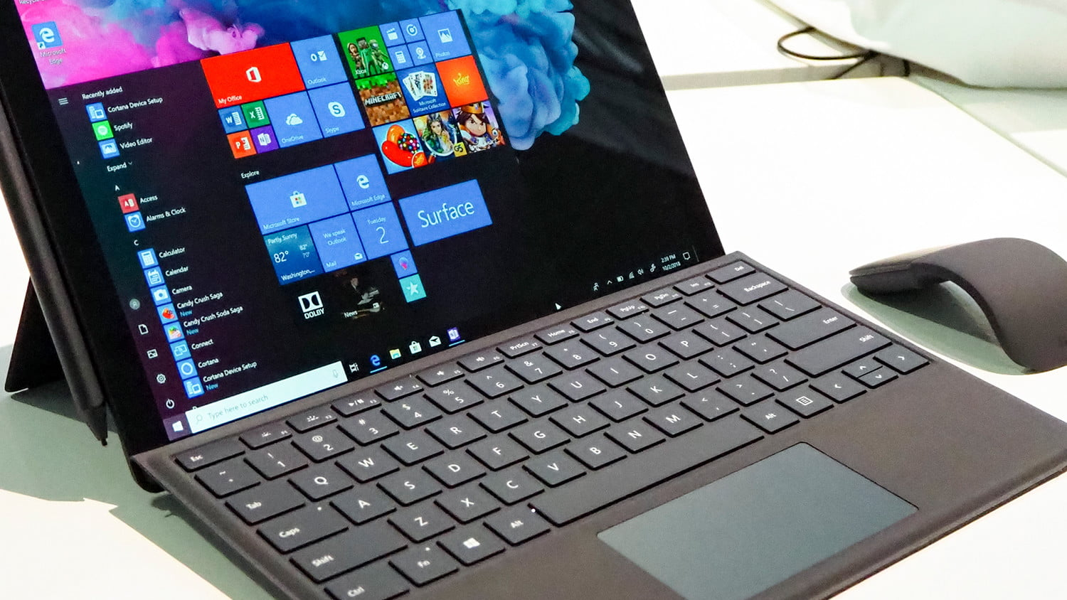 save 330 on surface pro 6 at amazon today microsoft feat