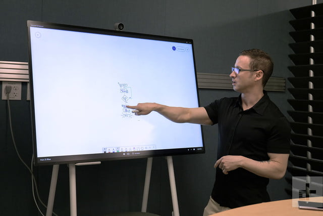 Microsoft Surface Hub 2s Hands On Review The Best Surface You Ll Never Own Digital Trends