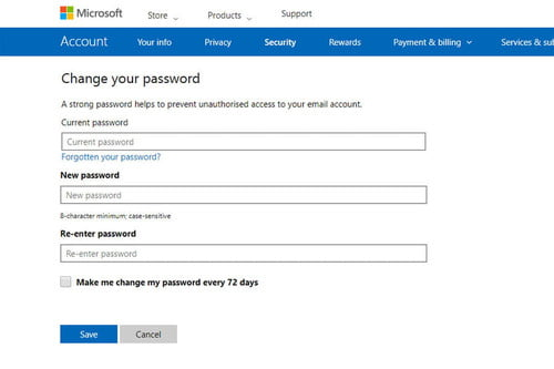 How to Change Your Outlook Password | Digital Trends