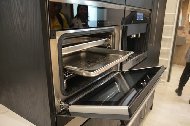 appliance trends kbis 2017 miele 24 inch steam combi oven