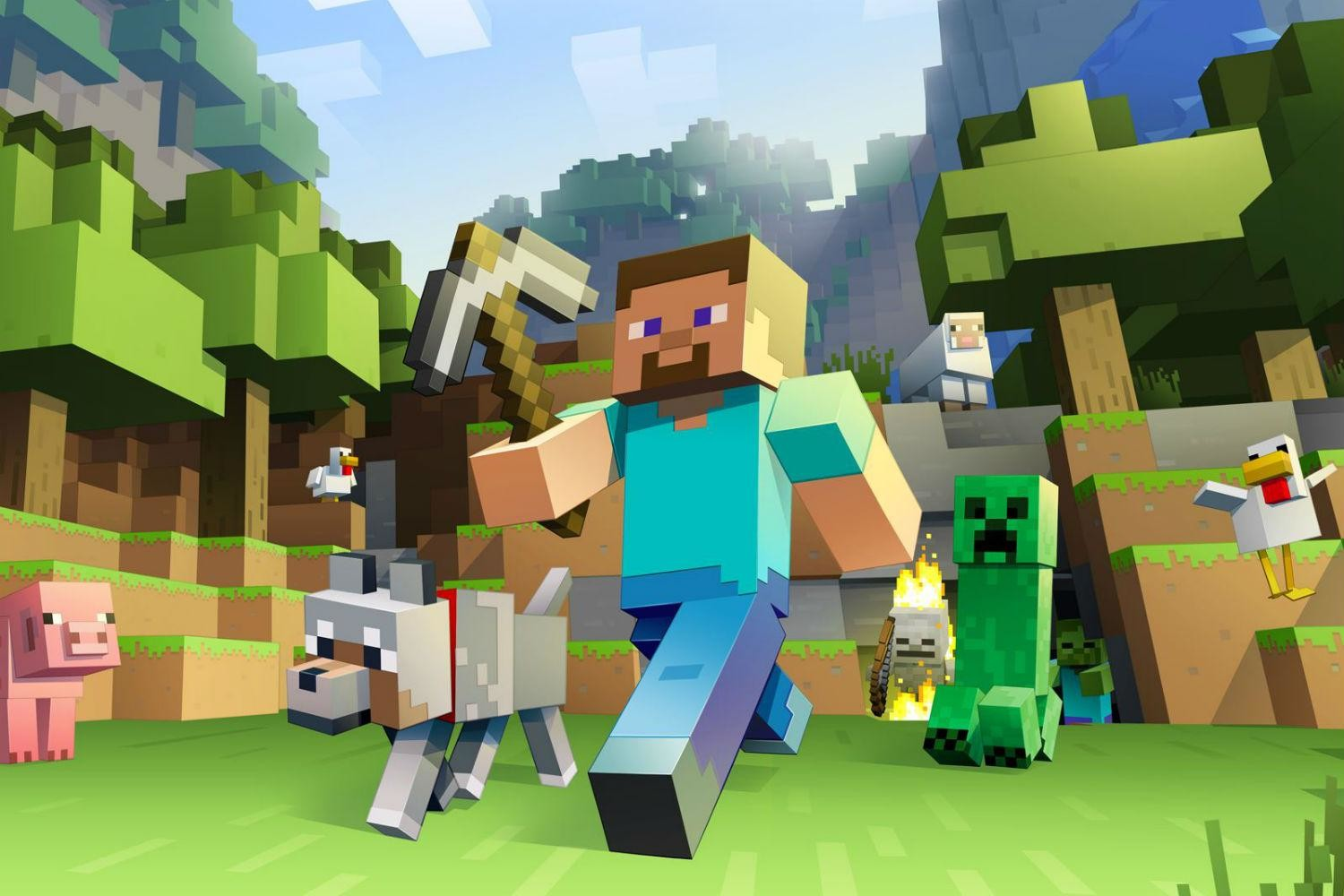Minecraft Update Removes the Name of Its Creator, Notch   Digital Trends