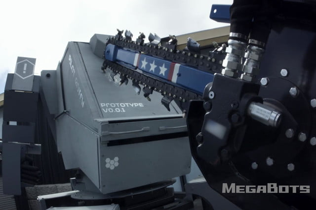 usa and japan are having a giant robot duel mkiii chainsaw