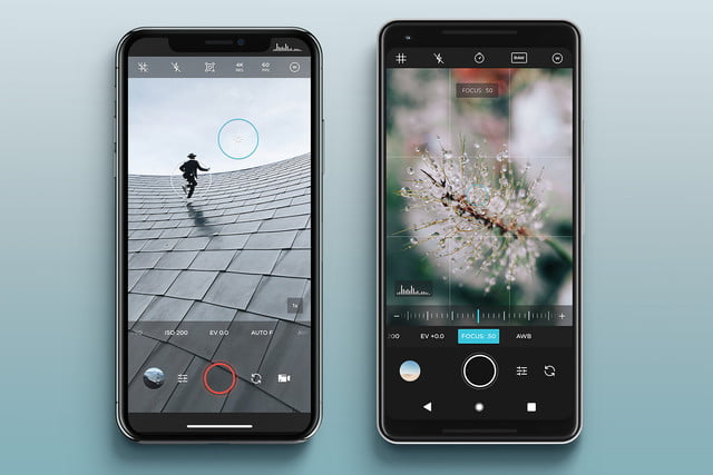 iphone style camera app for android
