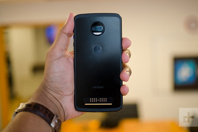 Moto Z2 Force hands-on review back in hand