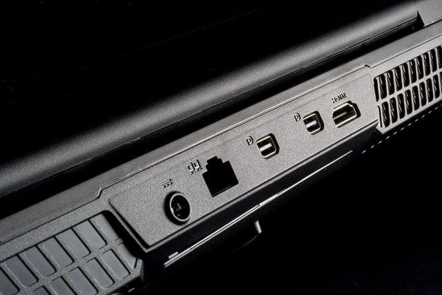 MSI Global GT60 Dominator Pro connectivity ports