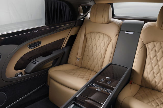 bentley engineering boss interview mulsanne extended whelbase rear cabin