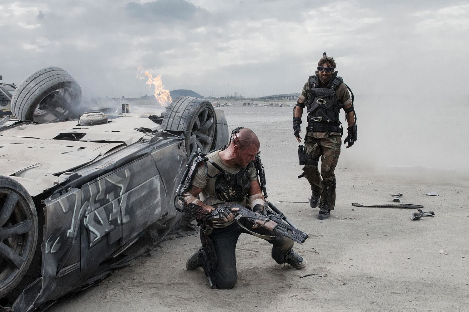 "a review of the film elysium by neil blomkamp But blomkamp seems fully at ease and in control from the earliest scenes of ""elysium,"" which introduce us to a futuristic los angeles (circa 2154) that has, in one of the film's canniest."