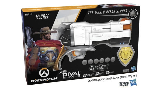 Blizzard and Hasbro Announce Overwatch McCree Nerf Blaster ...