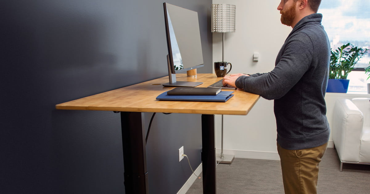 NextDesk Terra Standing Desk Review Digital Trends