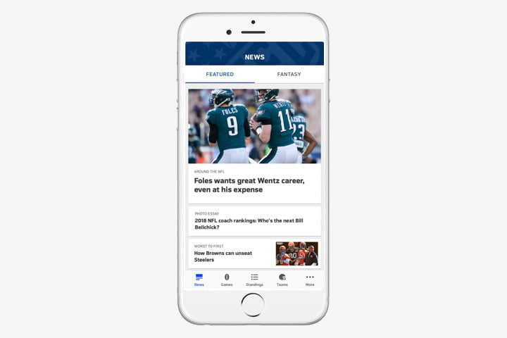 best iphone apps nfl ios