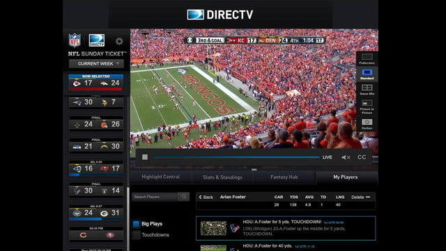 download nfl sunday ticket on apple tv