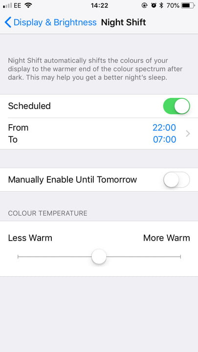 How to use Night Shift on iPhone