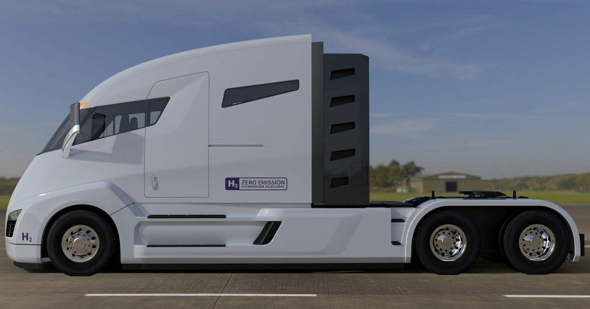 Big switch nikola one all electric truck will now be for Nikola motors stock price