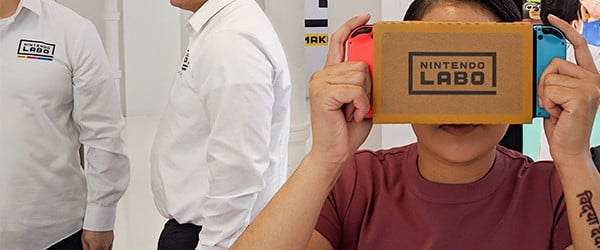 Move aside Google, Nintendo's Labo VR Kit is the new king of cardboard VR