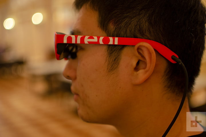 nreal product impressions ces 2019 glasses 1