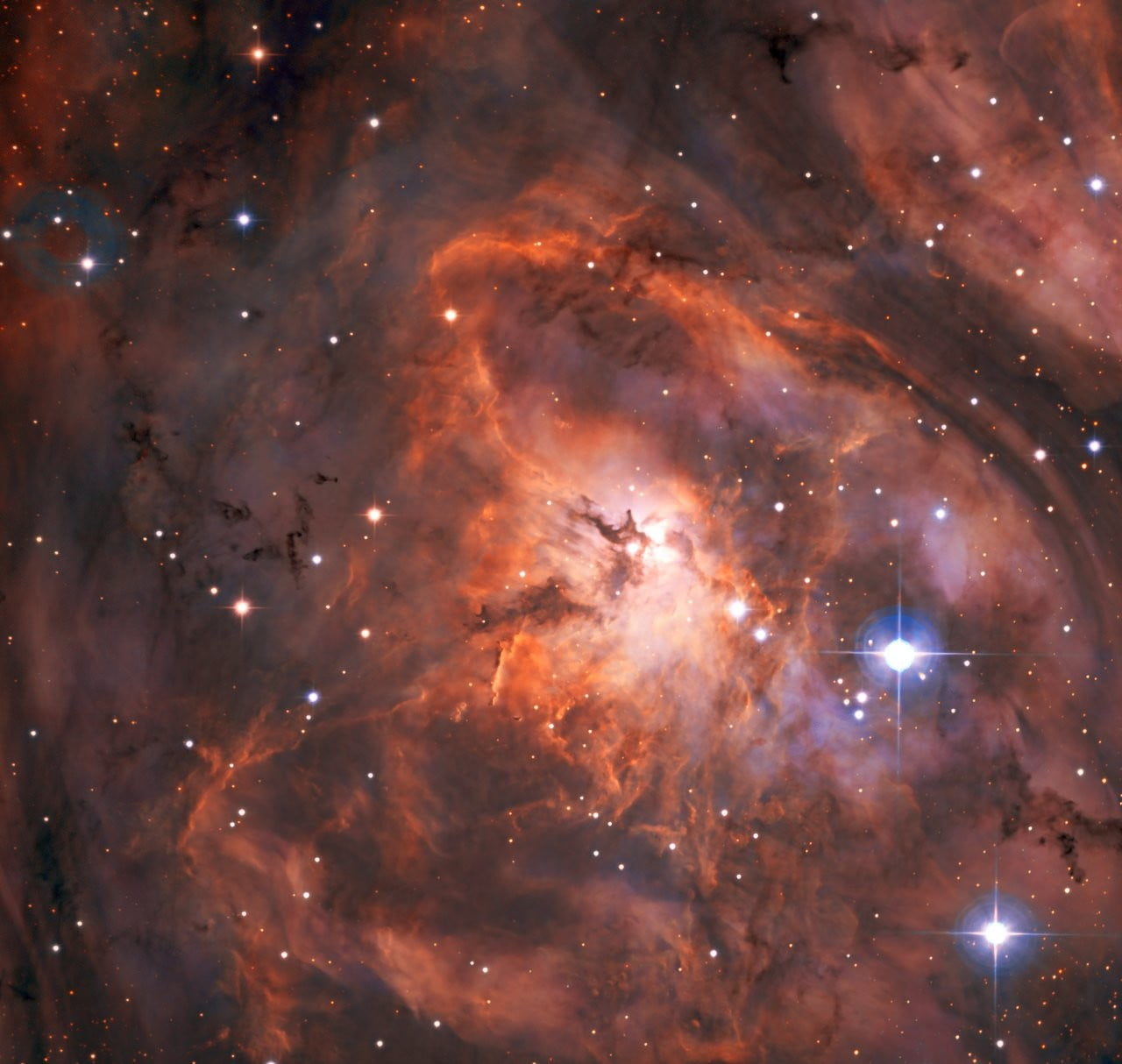 Take a dip in the Lagoon Nebula in first image from SPECULOOS instrument
