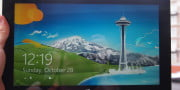 Microsoft Surface With Windows RT front screen
