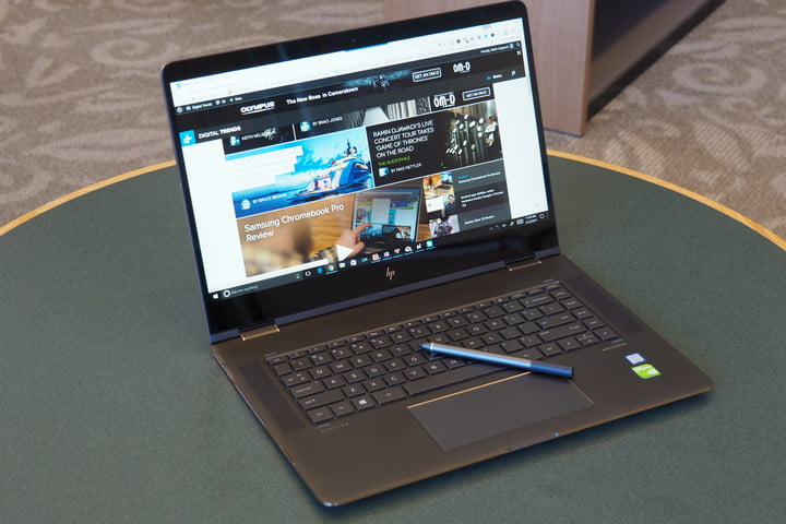 HP's spring sale cuts prices on the 15-inch Spectre x360 by $270