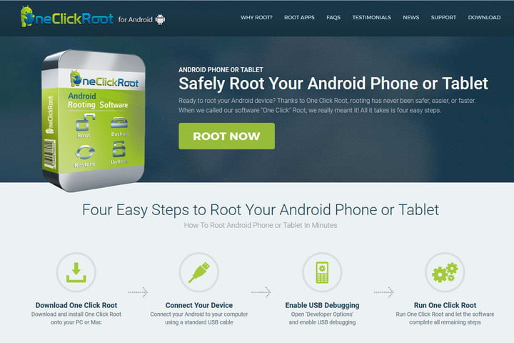 one click root how to root android