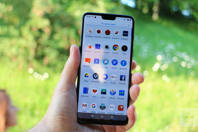 oneplus 6 hands on apps