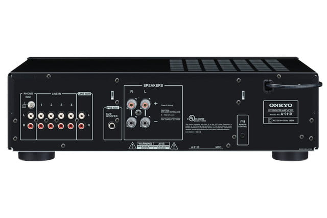 Onkyo Debuts Affordable A-9110 Two-Channel integrated Amplifier