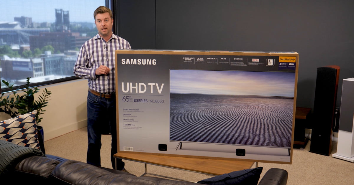 Samsung Mu8000 Unboxing And Setup Guide Get The Most Out