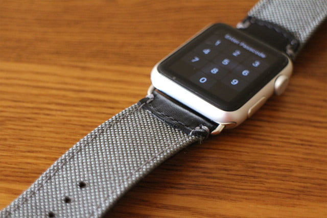 best Apple Watch bands Pad & Quill Field Strap top