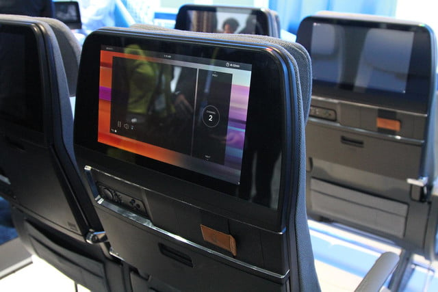 Panasonic X Series inflight entertainment