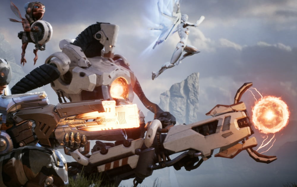 Epic Games' MOBA 'Paragon' Hits Open Beta on PS4, PC ...