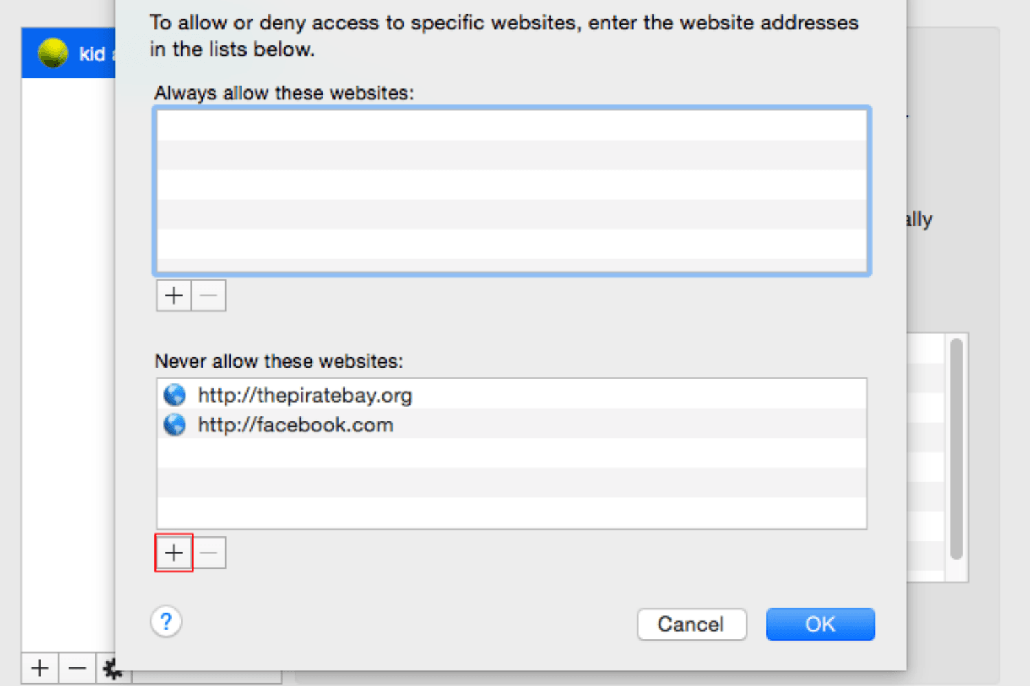 how to block a website