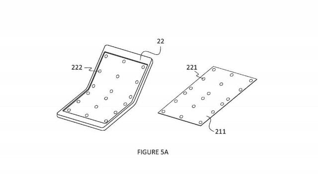 microsoft laptop with foldable screen patent 1