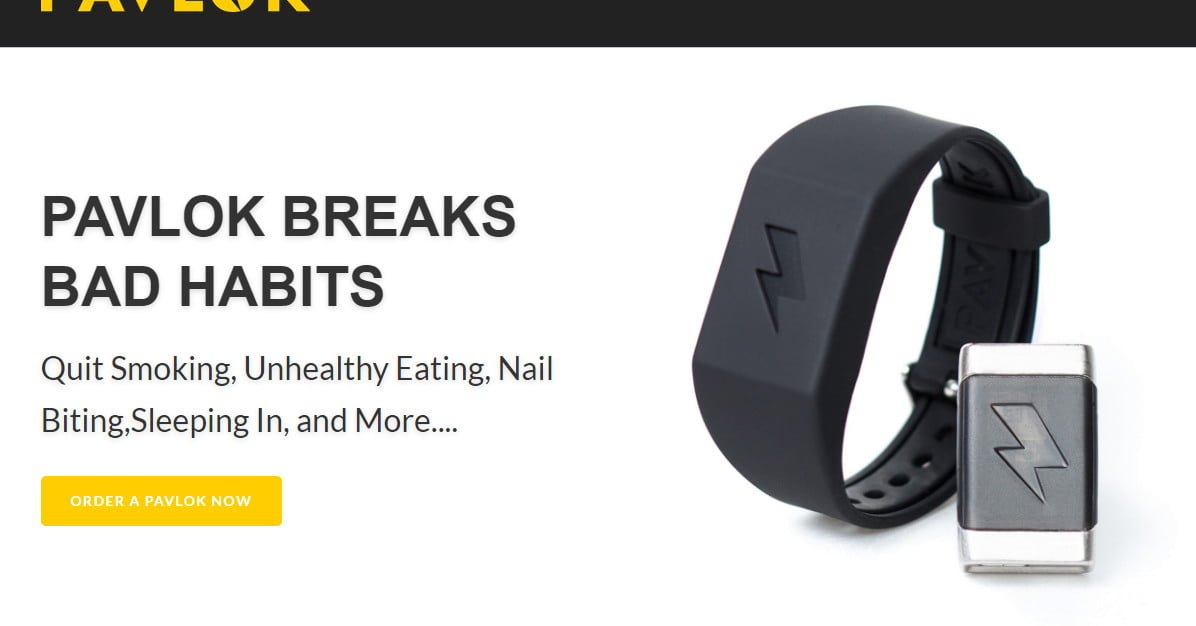 Tracking Devices For Cars Best Buy >> Electroshock wristband Pavlok is now on Indiegogo ...
